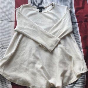 quarter sleeve top
